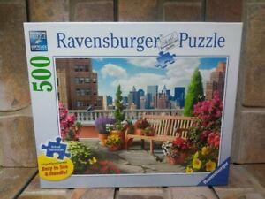 Ravensburger 500 Large Piece Jigsaw Puzzle - Rooftop Garden