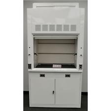 NEW 4' Chemical Laboratory Fume Hood w/ Epoxy Top and Base Cabinet -