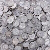Washington Quarter 90% SILVER-1932-1964-20 Coin Lot-Half Roll