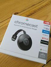 Chromecast 2 - Clé HDMI Wifi 1080p pour afficher Youtube sur la TV - NEUF