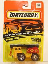 MATCHBOX 1993  #42  MOBILE CRANE - MOVING PARTS