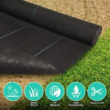 250ft Length Weed Barrier Landscape Control Fabric 3.2oz Heavy Woven Gardening