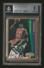 New listing 1992 Fleer Tony's Pizza Michael Jordan BGS 9 Mint ultra rare GOAT Bulls INVEST!!