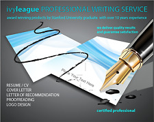 ivyLEAGUE Certified Professional Resume Writing, CV, Cover Letter Service