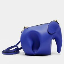 Elephant Mini Crossbody Bag- Blue