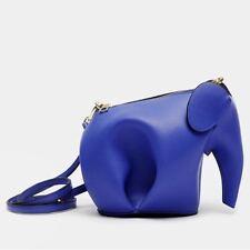 Elephant Mini Crossbody Bag- Blue