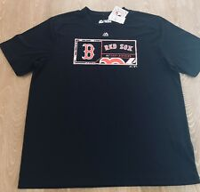 c85734695 Boston Red Sox Majestic Cool Base Evolution Tee Shirt Mens Size XL