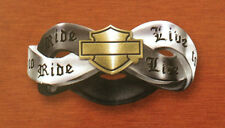 Harley-Davidson® Ladies Live to Ride Ring size 10 from Franklin Mint D4J8976
