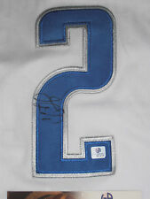 JASON KIDD SIGNED JERSEY DALLAS MAVERICKS KNICKS GAI COA CERT #GV661414