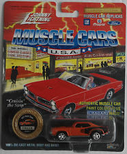 Johnny Lightning -'71/1971 Plymouth HEMI Cuda Arancione Nuovo/Scatola Originale