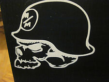 METAL MULISHA SKULL 6 INCH VINYL DECAL / STICKER