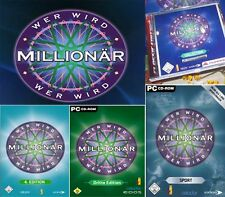 Who will Millionaire Part 3 + Part 4 + Sport riessig! All 3 parts for the Pc