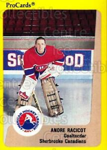 1989-90 ProCards AHL #180 Andre Racicot