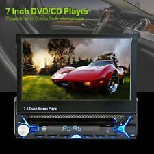 "7"" LCD Touchscreen Flip Out DVD CD USB MP3 Car Stereo Music Audio/Video  Player"