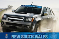 State of Origin NSW New South Wales Blues Car Windscreen Sun Visor Sticker Decal