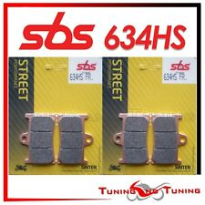 Pastiglie Anter. SBS HS Sinter Per YAMAHA XT Z SUPER TENERE 1200 2014 14 (634HS)
