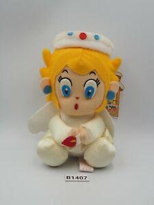 "Princess Peach B1407 Super Mario Banpresto 1993 Christmas Plush 6"" Doll Japan"