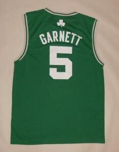 BASKETBALL SHIRT NBA ADIDAS BOSTON CELTICS - GARNETT #5 (M) Jersey Trikot