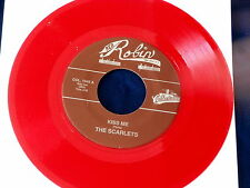 SCARLETS~ KISS ME~ RED WAX~ MINT~ INDIAN FEVER~ RED ROBIN ~ DOO WOP 45