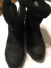 NORTHFACE WATERPROOF SUEDE INSULATED WOMEN'S BOOTS SIZE 7