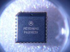 MOTOROLA MC10H640FN IC Clock Driver ECL-TTL 28-PLCC  **NEW**  1/PKG