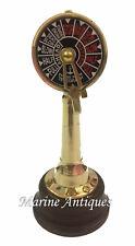 "6"" Antique Brass Ship Engine Order Telegraph~Nautical Decorative Collectible"