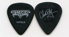 TESTAMENT 2010 Carnage Tour Guitar Pick!!! CHUCK BILLY custom concert stage Pick