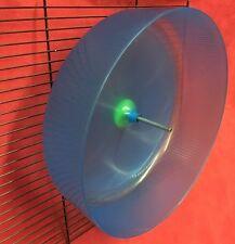 PLASTICA ratto esercizio RUOTA 11 pollici a clip o un soprassuolo silenziosa CRICETO Gerbil