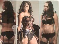 Gal Gadot Autograph 8x10 Signed Photo w/ COA Wonder Woman, DC Comics, Fast & The