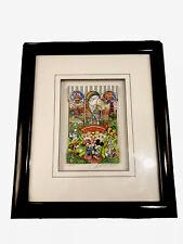 Charles Fazzino 3D Pop Art - Tokyo Disneyland Walt Disney Mini 279/350 W/ COA $$