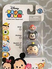 Disney Tsum Tsum Series 2 Ariel, Mickey Mouse & Queen of Hearts