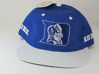 Vintage Rare NCAA Duke Blue Devils Snapback Deadstock Hat Cap Logo 7 90's NWT