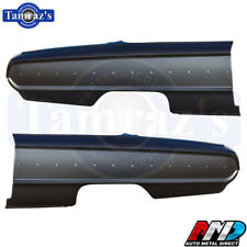 64 Galaxie Fastback OE Style Rear Quarter Panel Ford Licensed Product - AMD PAIR