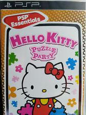 HELLO KITTY PUZZLE PARTY (PSP ESSENTIALS). JUEGO PARA PSP. PAL-ESP.NUEVO,PRECIN.