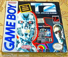 T2: The Arcade Game NES Nintendo Game Boy GAMEBOY SYSTEM GAME SEALED NEW
