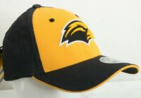 NEW Southern Miss Golden Eagles Zephyr Gray Stretch Fit Baseball Hat Cap M/L