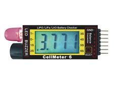 Pichler Lipo CELLULE mètre 2-6S, lipo-tester avec LC-DISPLAY, été et Heller Del