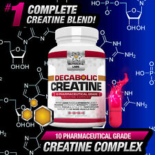 Complesso di Creatina decabolic-più Forte LEGALE ANABOLICO Pillole/Tablet/CAPSULE