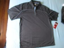 New with tags - Top Flite Men's Black S/S Polo Golf Casual Shirt Size Large