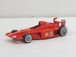 Ferrari Rennwagen Formel 1 rot Nr.3 ohne Fahrer, ohne OVP, Hot Wheels, ca. 1:64