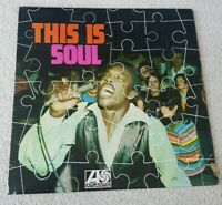 This Is Soul Vinyl Album LP Atlantic Records 1968 Otis Redding Ben E King Carla