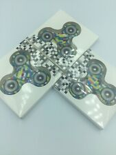 Lot Of 3 Rainbow Fidget Spinner EDC Stress Anxiety Focus Relaxing Kids Toys Hand