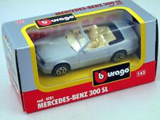 B burago 4181 Mercedes Benz 300 SL 1/43 Die-Cast Made in Italy modellismo static