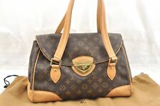 Auth Louis Vuitton Monogram Beverly GM Hand Bag M40120 LV 58290