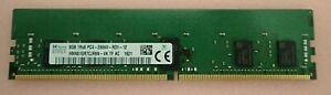SK Hynix 8GB 1RX8 DDR4-2666V PC4-21300 ECC RDIMM Server RAM - HMA81GR7CJR8N-VK
