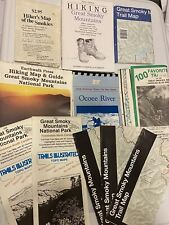 Great Smoky Mountains National Park Hiking Trail Maps & Guide Tennessee Outdoors