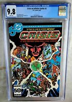 Crisis on Infinite Earths #3 D.C. DC 1985 CGC 9.8 NM/MT White Pages Comic N0093
