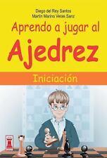 Aprendo a jugar al ajedrez: Iniciacion (Escaques) (Spanish Edition)-ExLibrary