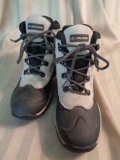 POLARIS~Thermolite~Leather/Rubber~Gray/Black~Snow/Rain/Hiking Boots~Womens 6~EUC
