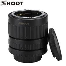 SHOOT N-AF1-B Macro Extension Tube Adapter Ring Set Auto Focus for Nikon Camera